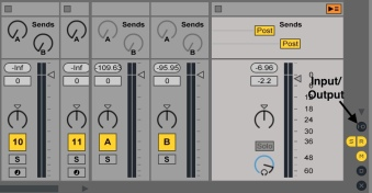 Ableton Master Section