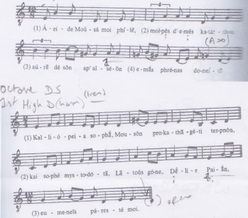 Hymn to the Muse Score Crop